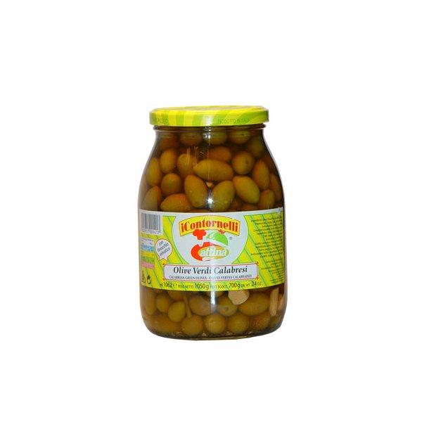 Grønne oliven (1050 gr)
