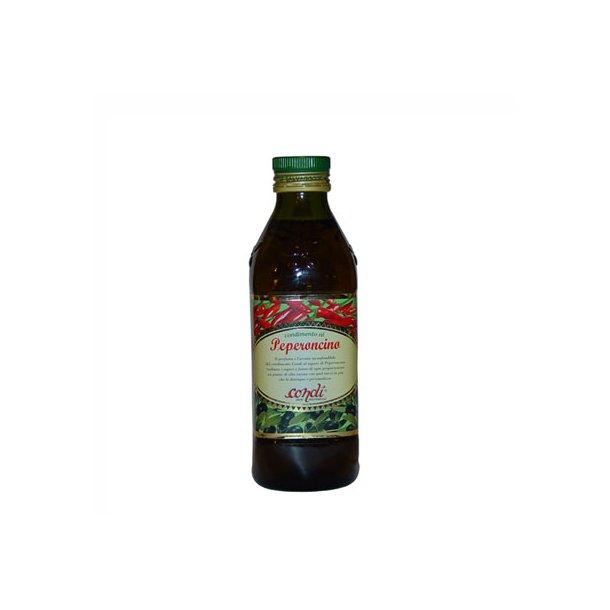 Olio al Peperocino - chilli olie, 500 ml.