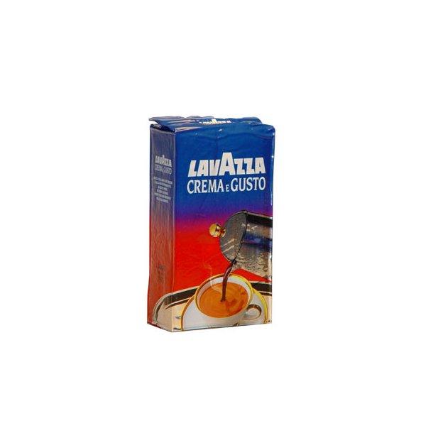 Lavazza kaffe - Crema e Gusto - netto 250 gr.